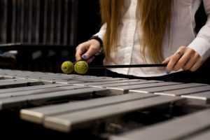 female percussionists