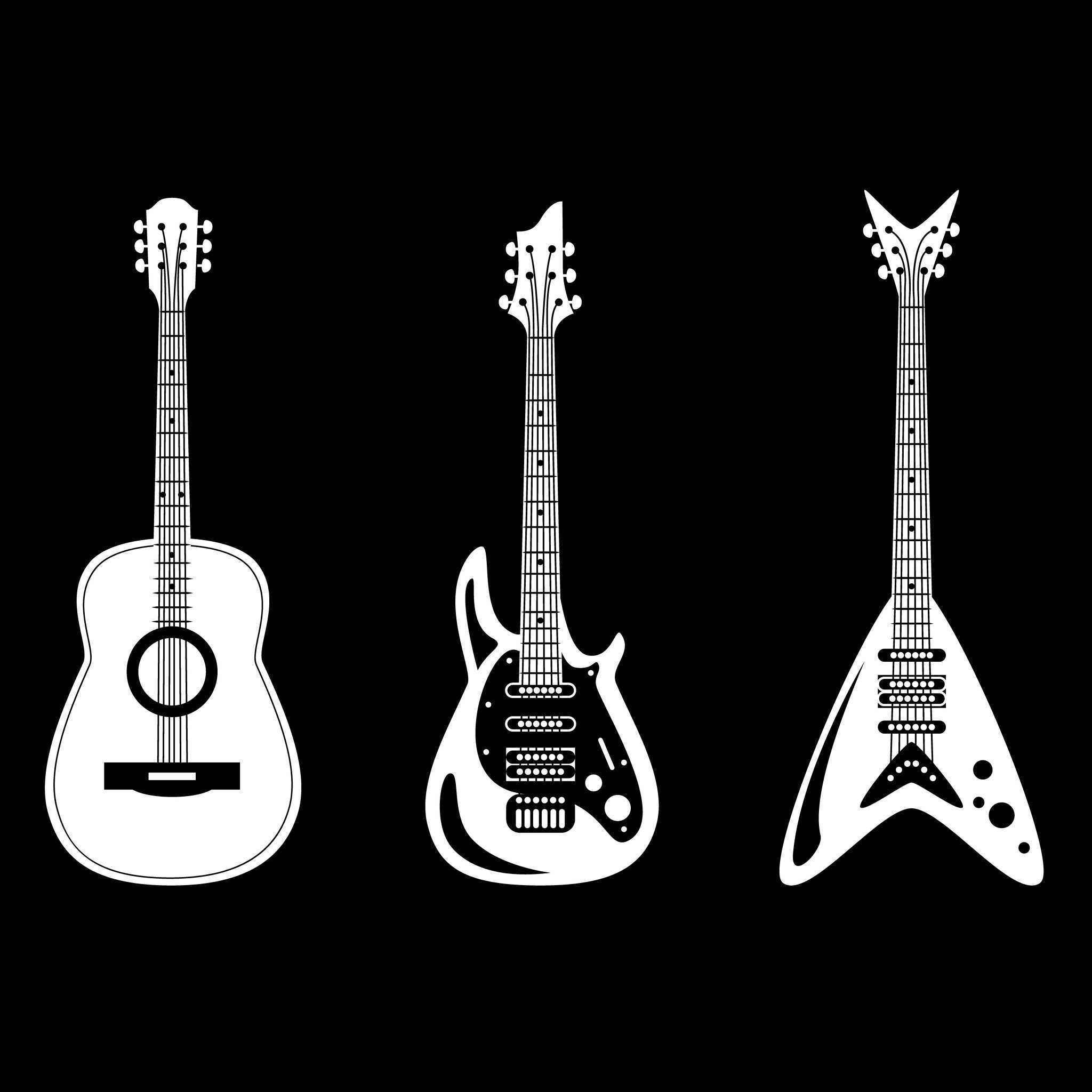 types of guitars acoustic electric and everything in between. Black Bedroom Furniture Sets. Home Design Ideas