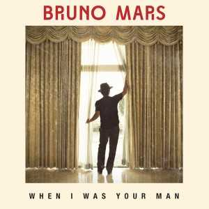 album cover when I was your man