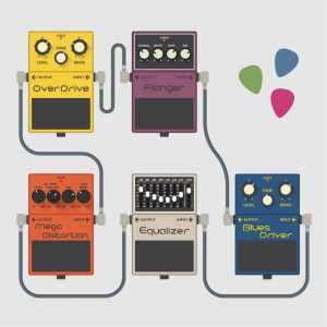 guitar effects graphic