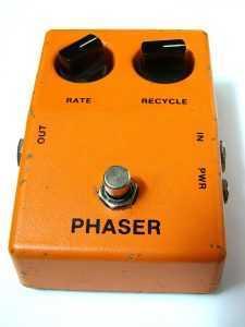 phaser guitar pedal