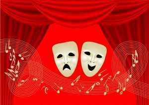musical theatre masks