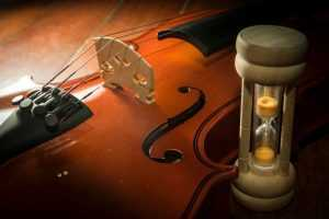 violin accessories hourglass for practice