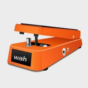 wah-wah pedal vector