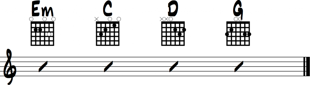 Heart of Gold Chords Arranged for Beginning Guitar (Neil Young)