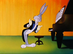 Bugs Bunny in Rhapsody Rabbit