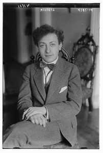 violinist Heifetz