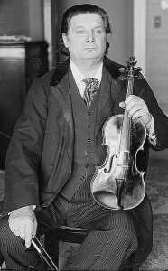 violinist Ysaÿe
