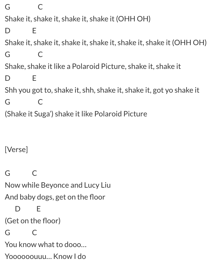 outkast chords