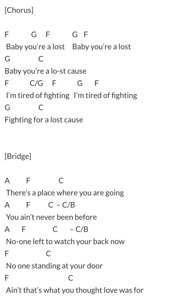 beck lyrics