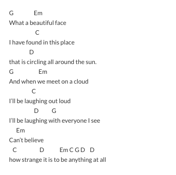 aeroplane lyrics