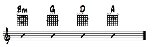 avicii chords