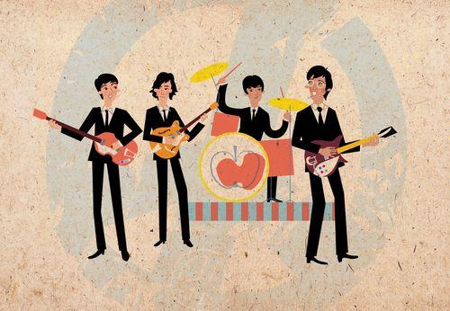 beatles guitar tab