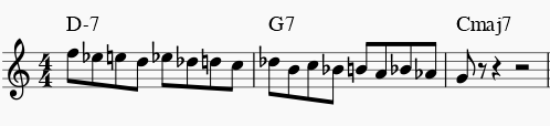 jazz improv chromatic
